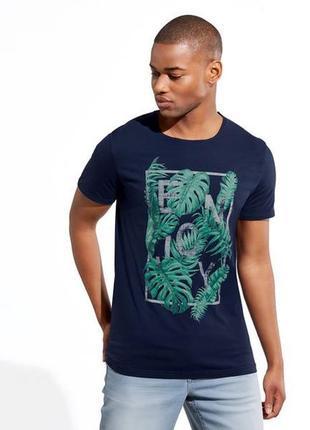 Новая мужская футболка livergy р.s 44/46