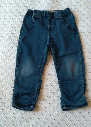 Джинси тонкі штанішки джинсы тонкие синие