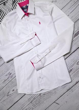 Белая рубашка от ralph lauren