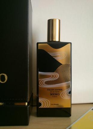 Memo italian leather_original_eau de parfum 7 мл_затест