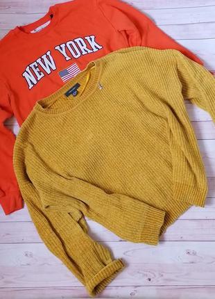 Шикарный велюровый свитер от primark