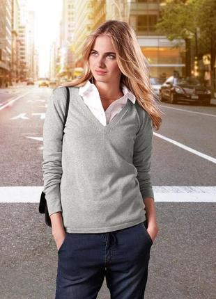 Пуловер tcm tchibo германия размер 36-38