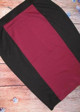 Шикарная трикотажная юбка