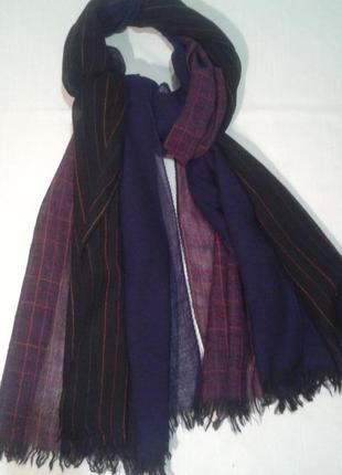 Тройной шерстяной шарф шаль scooter bijou теплый+300шарфов платков на странице