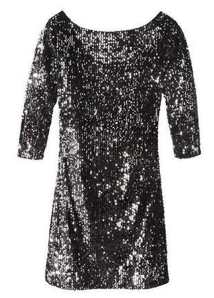 Платье в пайетки, вечернее платье