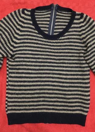 Пуловер из натуральной шерсти united color of benetton
