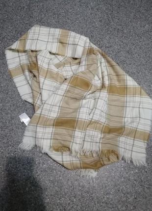 Большой тёплый шарф