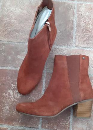 Обувь из сша, замшевые ботинки bandolino, есть большие размеры