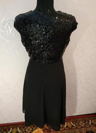 Шикарное платье с паетками2 фото