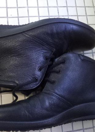 Кожанные ботинки hotter 39р