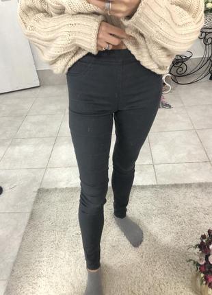 Обтягивающие джинсовые лосины h&m