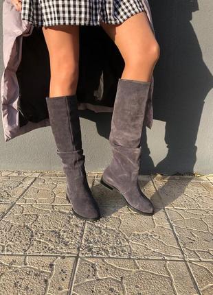 Lux обувь! зимние натуральные женские сапоги трубы 36р