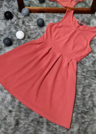 Платье из костюмного трикотажа