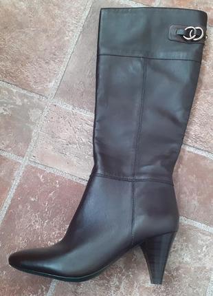 Кожаные сапоги bandolino, размер 36, куплены в америке