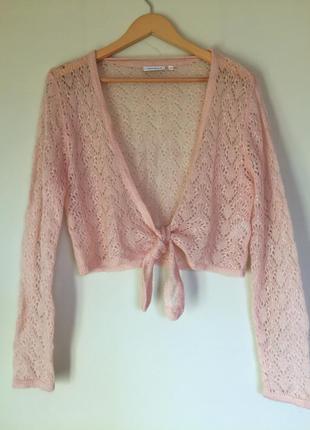 Красивый  кардиган/болеро размер l, yessica свитер