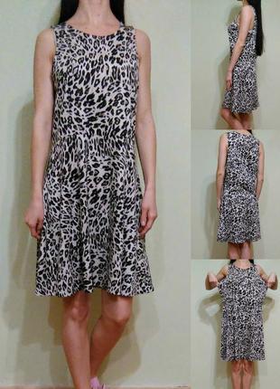 Распродажа леопардовое платье