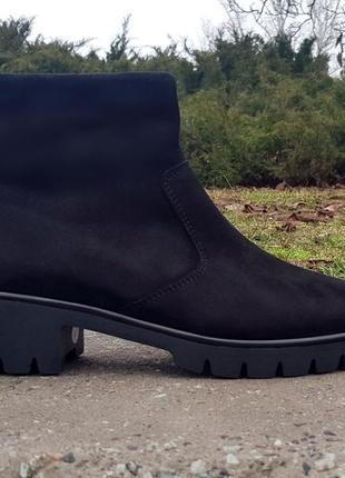 Semler женские ботинки германия натуральная замша