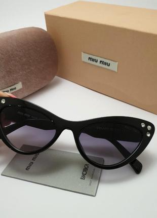 Солнцезащитные очки лисички miu miu