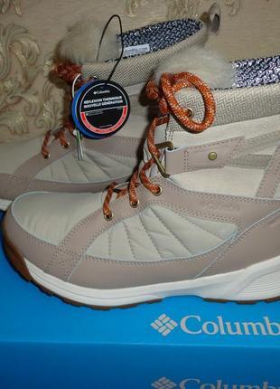Columbia meadows shorty omni-heat 3d новые зимние женские сапоги