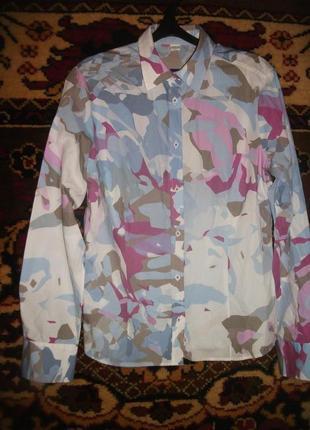 Рубашка  в весенний принт etema