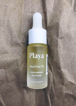 Playa ritual hair oil масло для волос
