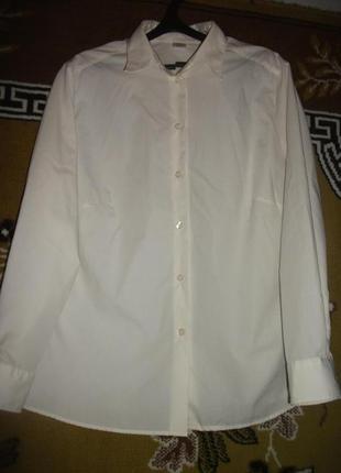 Блузка,рубашка белая