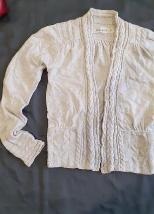 Кофта свитер реглан джемпер полувер накидка болеро на пуговицах ангора шерстяной