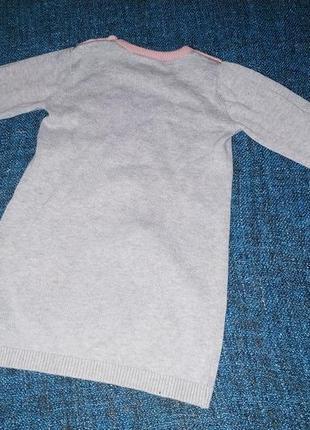 Туника, свитер, кофта, кролик 1.5-2 года marks & spencer