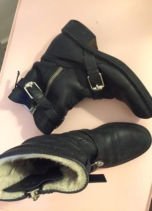 Ботинки зимние gucci