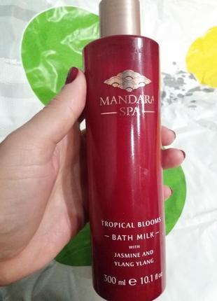 Лондонская косметика. mandara spa! молочко для ванны с жасмином и иланг-илангом