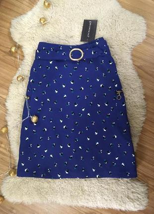 Классная юбка с кармашками по бокам promod