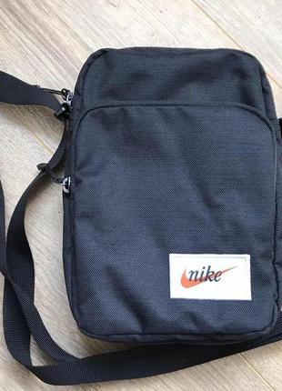 Оригинальная мужская сумка, мессенджер, nike, размер 15х22 см