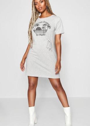 Brave soul, хит сезона- платье футболка,р-р 46-48, оверсайз, новое!!!