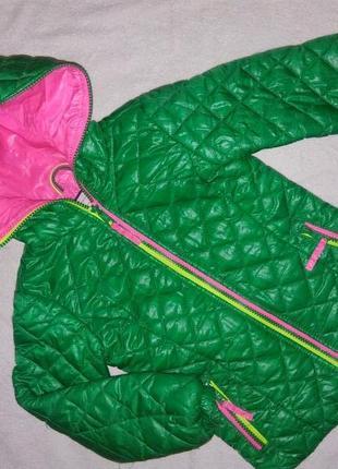 Замечательная деми куртка hema на 5-6 лет р.110-116