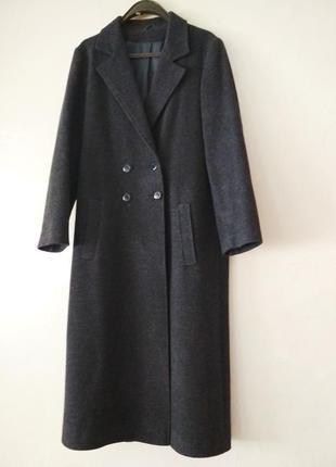 Базовое классическое пальто richards из шерсти и вискозы, р.s/m