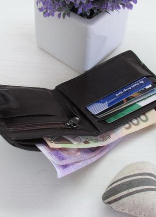 Кошелек, бумажник, портмоне, jeff banks, натуральная кожа