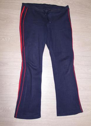 Теплые байковые штаны