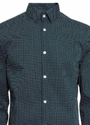 Мужская рубашка/ h&m