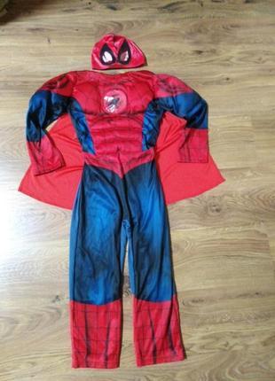 Карнавальный костюм супер герой человек паук