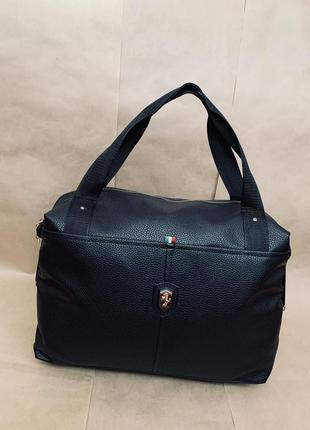 Люкс качество новая шикарная сумка pu кожа / сумка в дорогу / спортивная сумка
