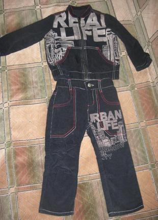 Фирменный костюм глория джинс на 1, 5 - 2, 5 года