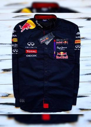 Pepe jeans x red bull infinity racing рубашка