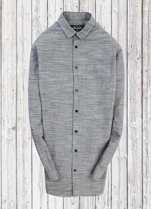 Удлинённая рубашка long length