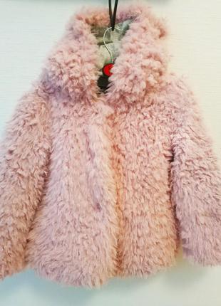 Куртка-меховушка palomino,германия, на рост 122-128см,270гр