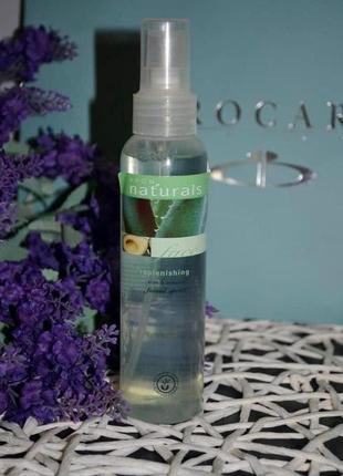 Avon naturals освежающий энерго-спрей для лица алоэ и авокадо aloe&avocado facial spritz