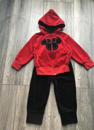 Велюровий спортивний костюм мікімаус