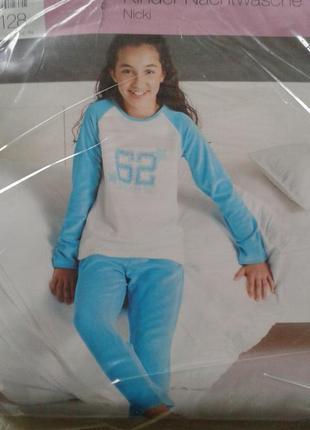 Уютная велюровая пижама, домашний комплект