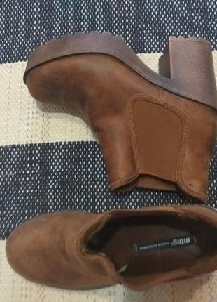 Ботинки mustang новые р. 37