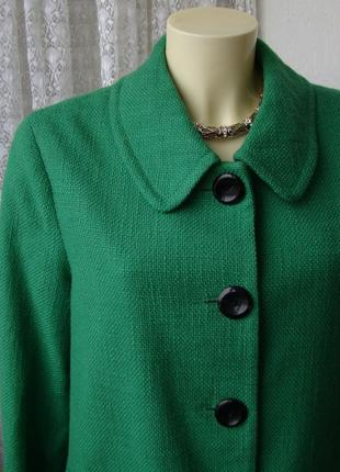 Жакет пальто легкое элегантное демисезонное бренд alex&co р.46 №4696