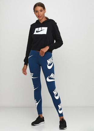 Лосины леггинсы nike womens sportswear leggings оригинал! - 30%